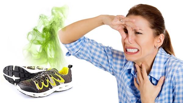 Зловонный запах из кроссовок
