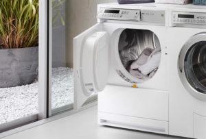 Использование сушильной машины