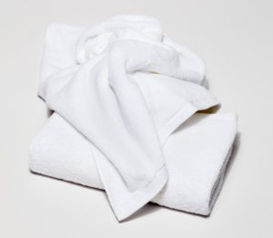 Белое тканое полотно