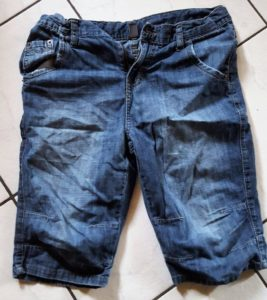 Мятые джинсы после экспресс-просушки