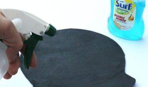 Средства для чистки коврика