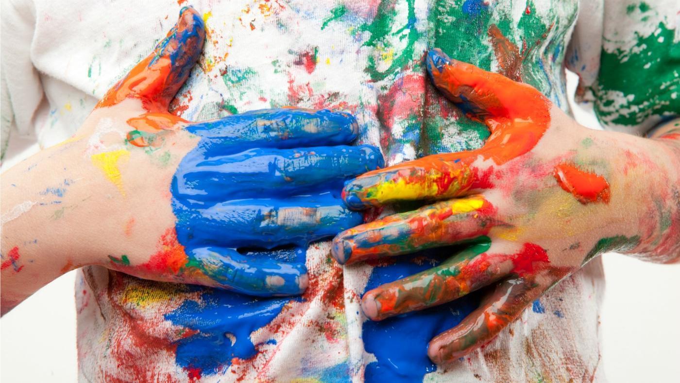 Как удалить краску с ткани
