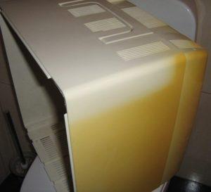 Пластик можно отбелить от желтизны