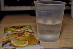 раствор из лимонной кислоты
