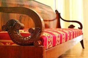 Деревянные элементы дивана