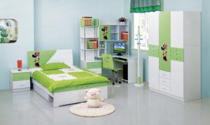 убранная детская комната