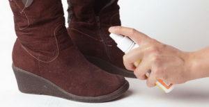 Обновление замшевой обуви