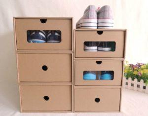 Хранить обувь необходимо в коробках