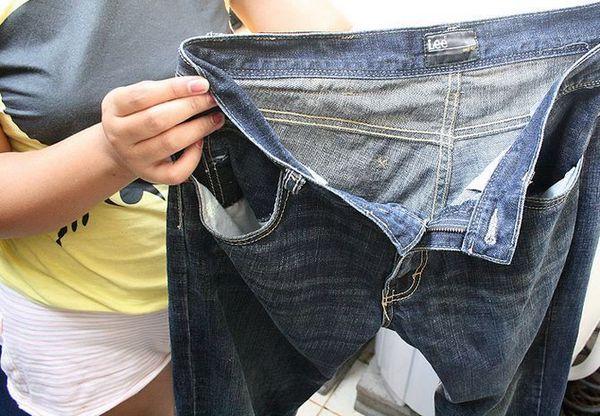 Стирка джинсовых вещей