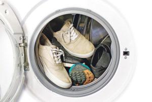 Стирка обуви в машинке-автомат