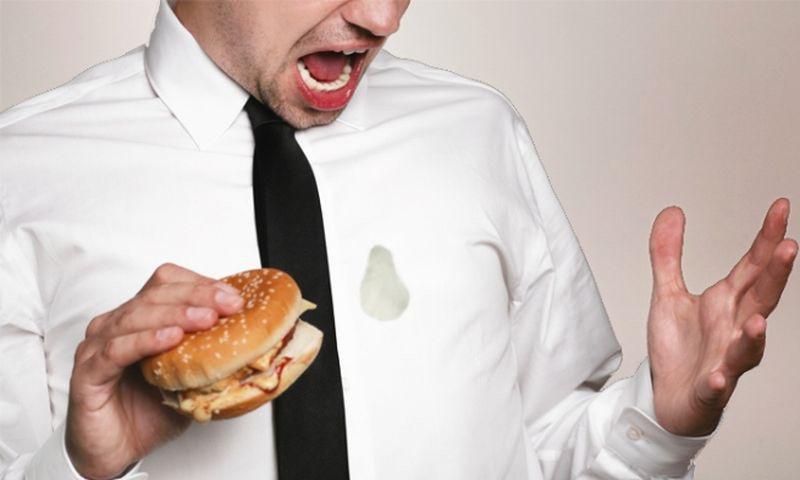 Удаление жирных пятен