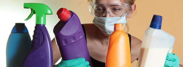 Бытовая химия вредна для организма