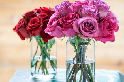 Уксус помогает продлить жизнь букету цветов