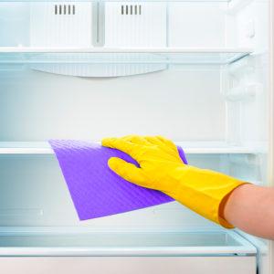 Удаление неприятного запаха из холодильника