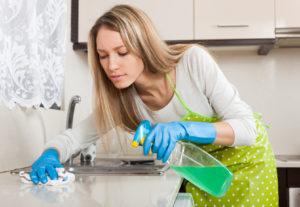 Сразу устраняйте следы приготовления пищи
