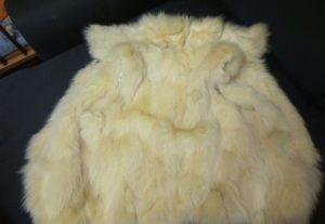 Шубка из меха кролика