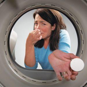 Неприятный запах в машинке