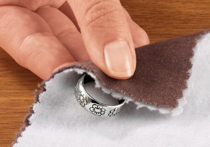 Отбеливание серебра