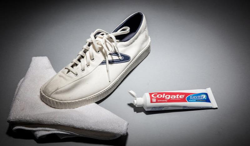Зубная паста для очищения подошв