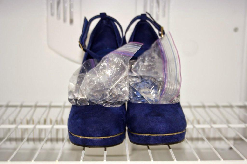 Увеличение обуви