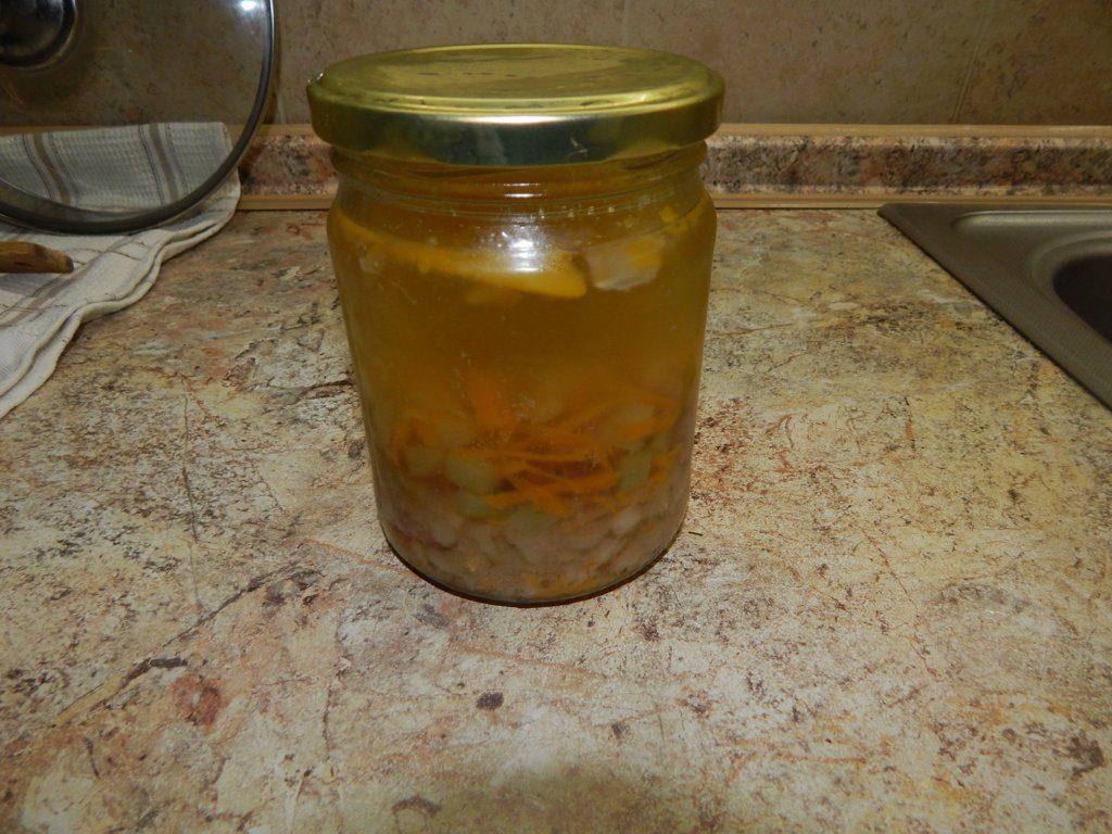 Разогреть в микроволновке суп