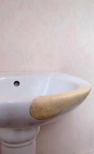 Ремонт раковины