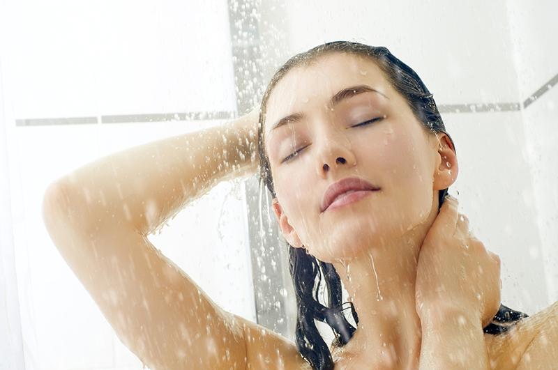 Хлорированная вода в душе