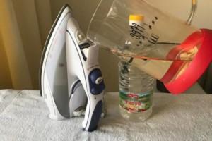 Как в домашних условиях почистить утюг внутри от накипи