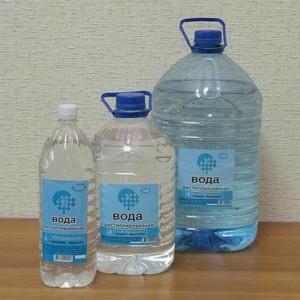 Какая вода требуется для утюга