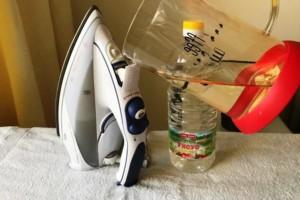 Как почистить отпариватель для одежды от накипи самостоятельно