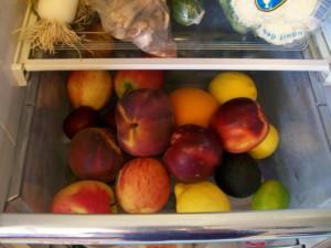 Как хранить персики правильно в домашних условиях