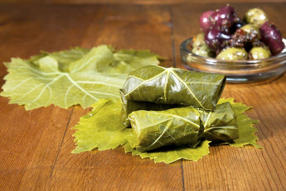 Как сохранить на зиму виноградные листья для долмы самостоятельно