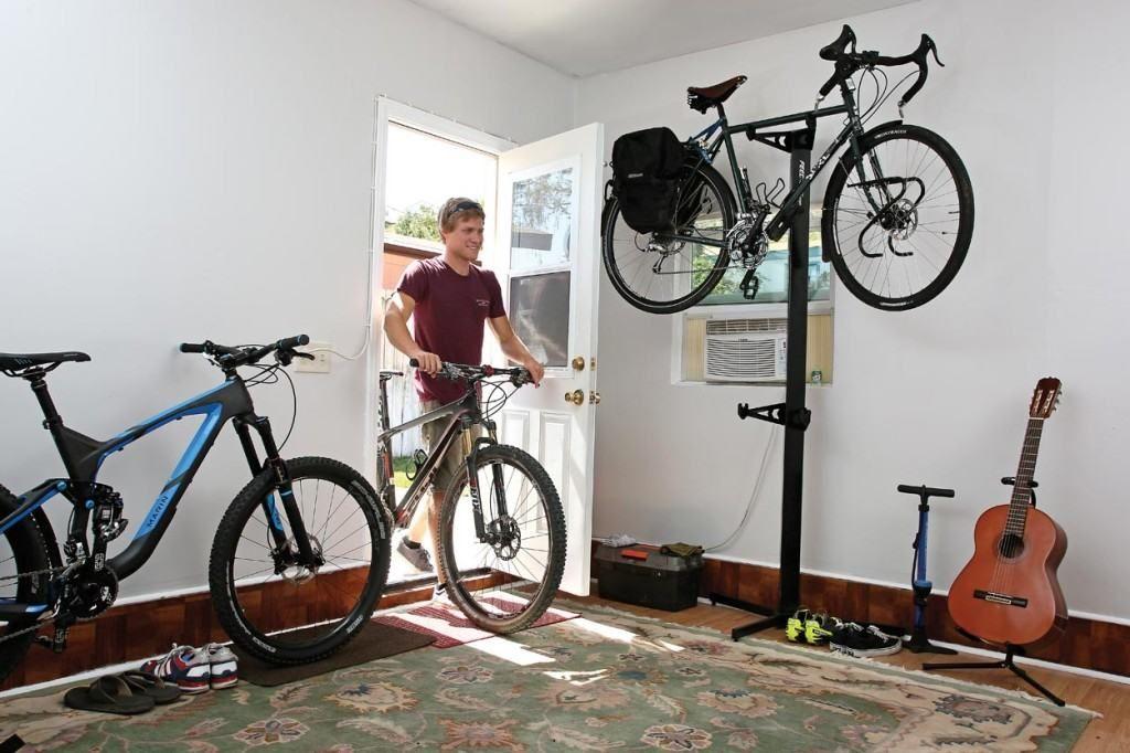 Как хранить велосипед в квартире зимой на балконе