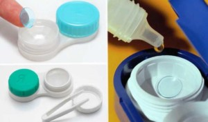 Как хранить линзы без раствора и контейнера на ночь